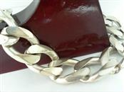 Silver Link Bracelet 925 Silver 66.2g